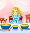 Cachos Dourados e as três taças de leite
