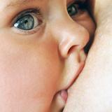 bebê a mamar