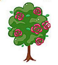 árvore do jardim da Alice