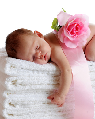 bebê a dormir