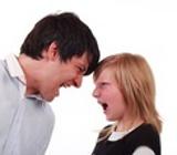 Pai e filha discutindo