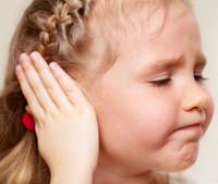 dor de ouvidos na criança