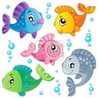 peixes amigos da Ariel