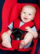 bebê em cadeirinha de automóvel